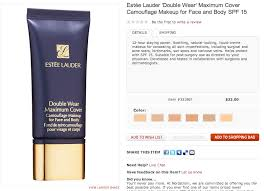 estee lauder double wear maximum cover 11 very light sketchbook recent foundation releases café makeup