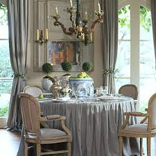 Southern Dining Rooms Southern Accents Magazine Christmas Pamela Used Olive Branches