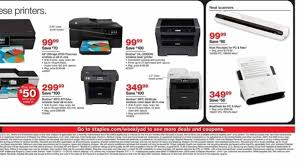 best black friday deals printer staples black friday 2013 ad find the best staples black friday