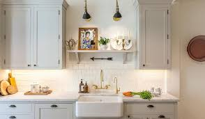 Light Gray Kitchen Cabinets With White Square Backsplash Tiles - Square tile backsplash