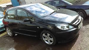 black peugeot for sale 2004 peugeot 307 black mot 05 18 coventry in coventry west