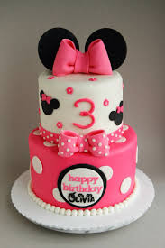 minnie mouse birthday cakes happy 3rd birthday a 6 8 minnie mouse cake filled with