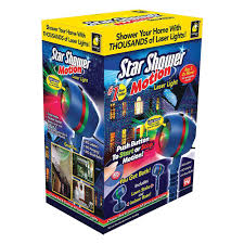 Outdoor Laser Projector Christmas Lights by Star Shower Motion Laser Light Projector 10639 6 The Home Depot