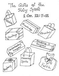 lds gifts of the holy spirit coloring pages clever crafts