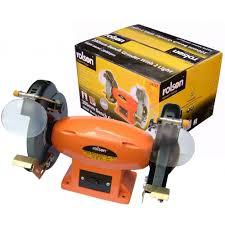 rolson 200mm bench grinder 550w