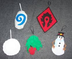 world of warcraft winter veil ornament set