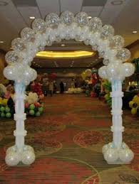 wedding arch balloons heart arch by su laswick cba balloontastic