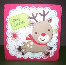 reindeer christmas card ideas christmas lights decoration