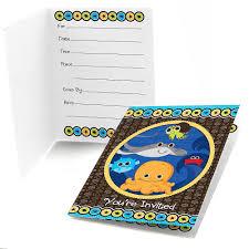 baby shower invitations under the sea ocean boy baby shower invitations baby shower mania