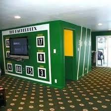 Football Room Decor Football Decor For Bedroom Curtains Green Bay Packer Bedroom Ideas