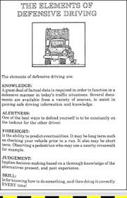 truck driving standards