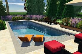 Patio And Pool Designs Easy Living Pools In Ground Swimming Pool Installers In Ohio