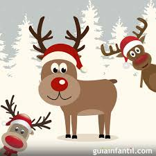 imagenes animadas de renos de navidad el reno rudolph cuento de navidad para niños