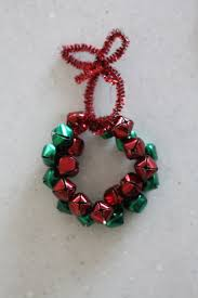 jingle bell wreath ornament i can teach my child