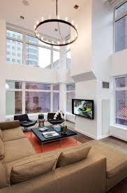 Living Room Pendant Lighting by Large Rustic Pendant Lights On High Ceiling For Modern Living Room