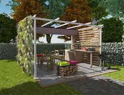cuisine d été design plan de travail pour cuisine exterieure design carrelage pour