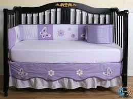 Lavender Butterfly Crib Bedding Butterfly Crib Bedding Sets Jbindustries Co