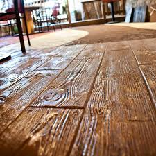 Wood Grain Stamped Concrete by Concrete Decor Studio Quality Concrete Solutions For Homes And