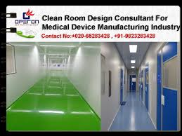 clean room design consultant for medical device