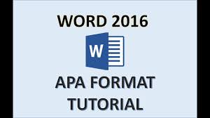 word 2016 apa format how to do an apa style paper in 2017 apa