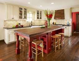 mystery island kitchen using pops of in your decor white cabinets big island and woods