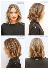 cute shoulder length haircuts longer in front and shorter in back best 25 wavy lob haircut ideas on pinterest lob haircut lob
