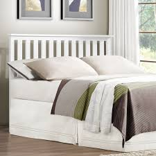 Wooden Headboards For Double Beds by Uncategorized Slatted Headboards Solid Wood Headboard White