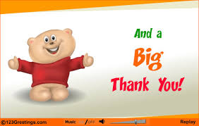 a big thank you to all children on thanksgiving http www