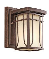 kichler outdoor lights outdoor light contemporary outdoor wall lighting home depot