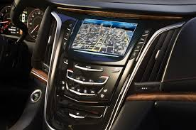 cadillac srx cue system idrive vs other infotainment systems