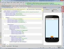 android editing where can i change to layout editor using android studio when