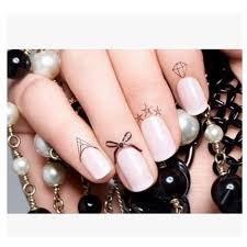 finger tattoo stickers new sexy edge nail stickers of women finger tattoo stickers variety