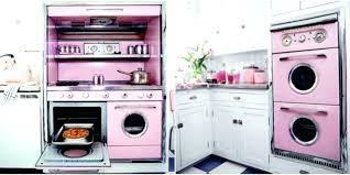 retro kitchen decor ideas vintage appliances fortune smiles on a los angeles as they