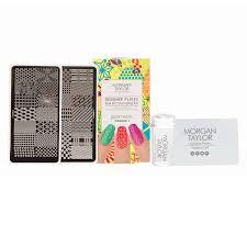 nail art stamping kit 9 count display morgan taylor cosmoprof