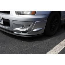 exterior usa vs jdm different front grille subaru impreza wrx sti front bumper splitters 2004 2005 fastwrx com