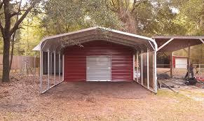 Carport Enclosures Best Metal Carports For Areas With Mild Or Moderate Climates