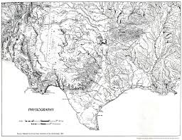 Physiographic Map Of The United States by