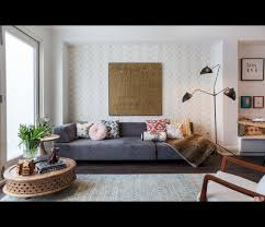 Serge Mouille Three Arm Ceiling Lamp Knock Off by Living Room Designer Danielle Bryks Serge Mouille Three Arm