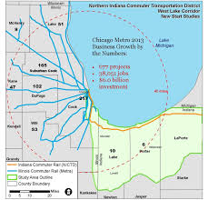 Map Of Blue Line Chicago by South Shore Expansion Will Bring Jobs To Northwest Indiana