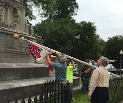 Battle Flags Of The Confederacy As Confederate Flags Taken Down At Alabama State Capitol Many