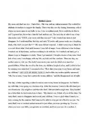 english teaching worksheets tales and stories