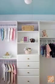 nursery closet organizer set