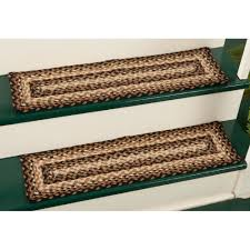 beautiful stair tread covers make an elegant addition to staircase