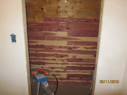 Cedar Wood Walls by How To Install Aromatic Cedar In A Closet A Concord Carpenter