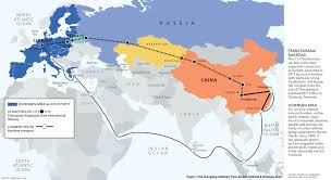 Map Of Us And Europe by China And Europe Reconnecting Across A New Silk Road The World