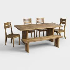 Dining Bench Table Set Unique Rustic Dining Room Furniture Sets World Market