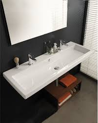designer bathroom sinks large square sink by tecla modern bathroom sinks philadelphia
