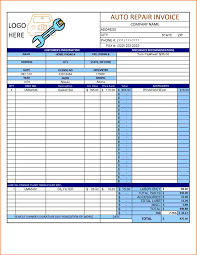 Car Repair Estimate Template by 10 Automotive Repair Invoice Template Free Invoice Term