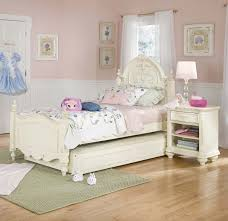 Pink And White Striped Bedroom Walls Peach Combination Of Bookshelf Laminate Wooden Floor 6 Furniture