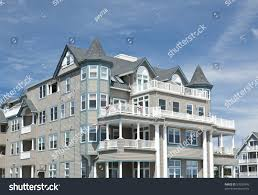 small beach house beach house ocean grove small beach stock photo 59550949